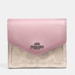 BRAND NEW COACH TRIFOLD WALLET in pink